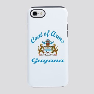 Coat Of Arms Guyana Country iPhone 8/7 Tough Case