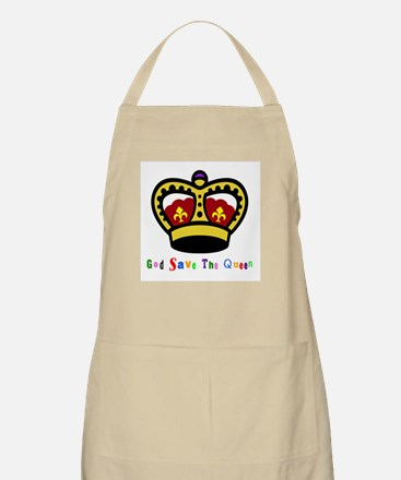 GOD SAVE THE QUEEN! BBQ Apron