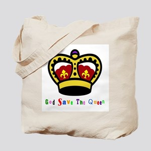 GOD SAVE THE QUEEN! Tote Bag