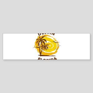 Summer destin- florida Bumper Sticker