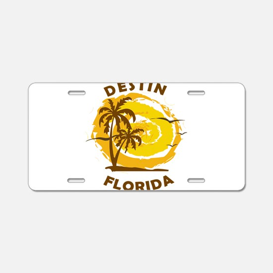 Summer destin- florida Aluminum License Plate