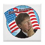 Dave Barry For President Tile Coaster