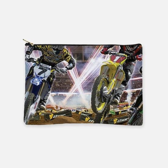 Motocross Arena Makeup Bag