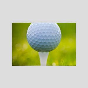 Golf Ball 4' x 6' Rug
