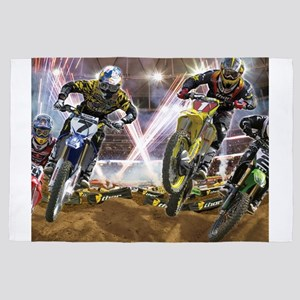 Motocross Arena 4' x 6' Rug