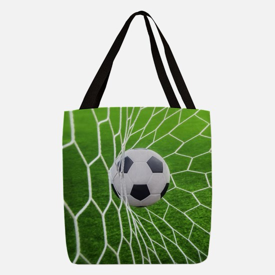Football Goal Polyester Tote Bag