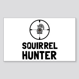 Squirrel Hunter Sticker
