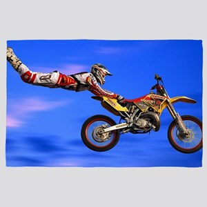 Motocross Freestyle 4' x 6' Rug