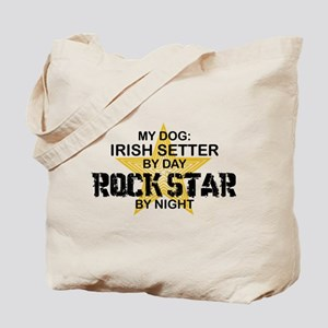 Irish Setter RockStar Tote Bag