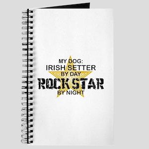 Irish Setter RockStar Journal