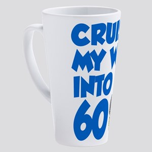Cruisin Into 60 17 oz Latte Mug