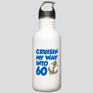 Cruisin Into 60 Water Bottle