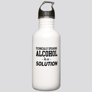 Technically Speaking Alcohol Is A Solution Water B