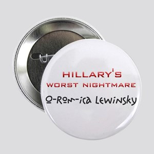 "Hillary Nightmare 2.25"" Button"