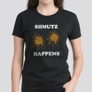 Shmutz Happens Women's Dark T-Shirt