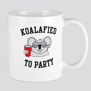Koalified To Party Mugs