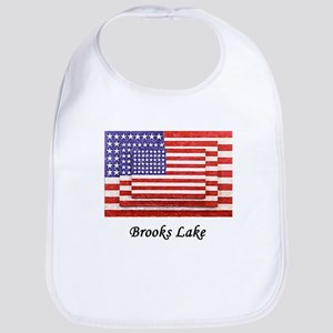 3 Flags super imposed Bib