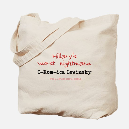 Hillary's Nightmare 2 Tote Bag