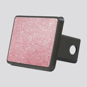 Rose-gold faux glitter Rectangular Hitch Cover