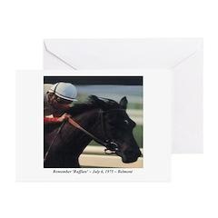 'Ruffian' Custom Greeting Cards (Pk of 10)