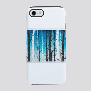 Watercolor Birch Trees iPhone 8/7 Tough Case