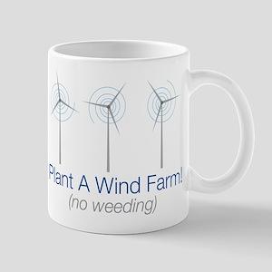 Plant a Wind Farm 11 oz Ceramic Mug