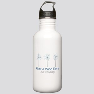 Plant a Wind Farm Stainless Water Bottle 1.0L