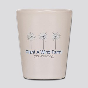 Plant a Wind Farm Shot Glass