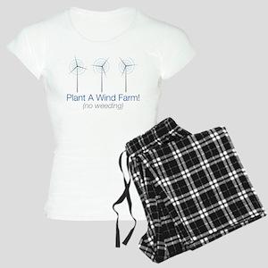 Plant a Wind Farm Women's Light Pajamas