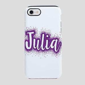 Glitter Julia iPhone 8/7 Tough Case