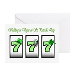 Wedding in Vegas 777 St. Patrick's Day Cards 10