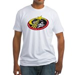 Shuttle STS-123 Fitted T-Shirt