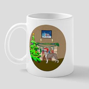 A Boston Terrier Christmas Mug