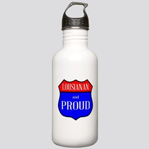 Lousianan And Proud Stainless Water Bottle 1.0L