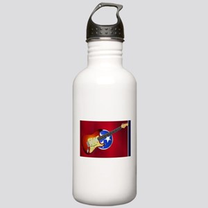 Tennessee Flag With El Stainless Water Bottle 1.0L