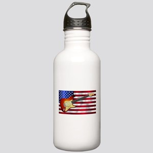 Old Glory Flag With El Stainless Water Bottle 1.0L