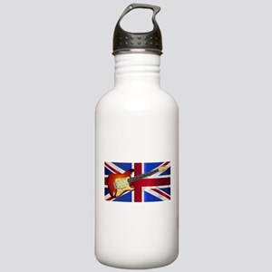 Union Jack Flag And El Stainless Water Bottle 1.0L