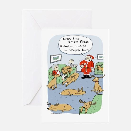 Fleece Navidad Greeting Card