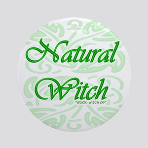 Natural Witch (Pagan/Wiccan Keepsake Round)
