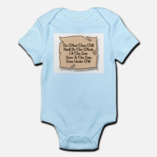 Do... Will... (Pagan/Wiccan Infant Creeper)