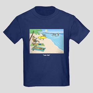 """""""Yule Tide"""" Kids Dark T-Shirt"""