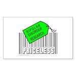 BIPOLAR DISORDER CAUSE Rectangle Sticker