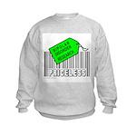 BIPOLAR DISORDER CAUSE Kids Sweatshirt