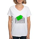 BIPOLAR DISORDER CAUSE Women's V-Neck T-Shirt