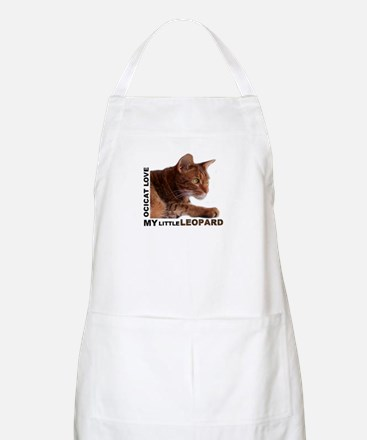 My Little Leopard - Ocicat Love Light Apron