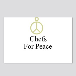 Chefs Postcards (Package of 8)