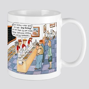 """Rubber Gloves"" Mug"
