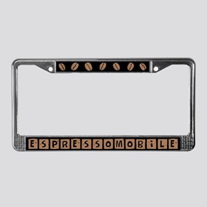 Espressomobile License Plate Frame