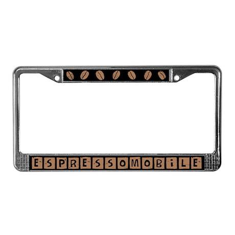 Espressomobile License Plate Frame