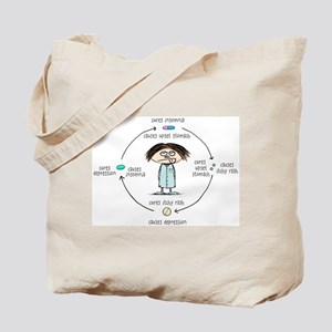 Medicinal Cures and Causes Tote Bag